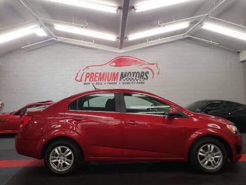 2014 Chevrolet Sonic for sale at Premium Motors in Villa Park IL