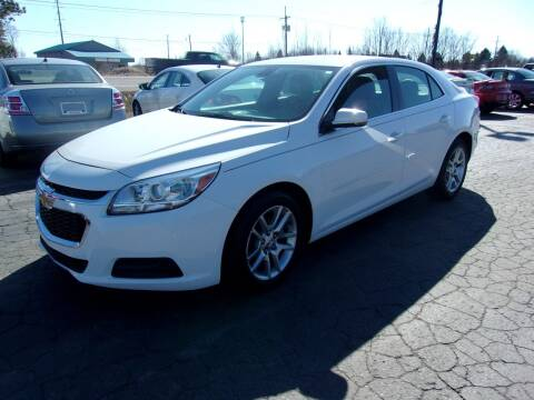 2014 Chevrolet Malibu for sale at DAVE KNAPP USED CARS in Lapeer MI
