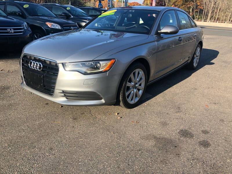 2014 Audi A6 for sale at TOLLAND CITGO AUTO SALES in Tolland CT