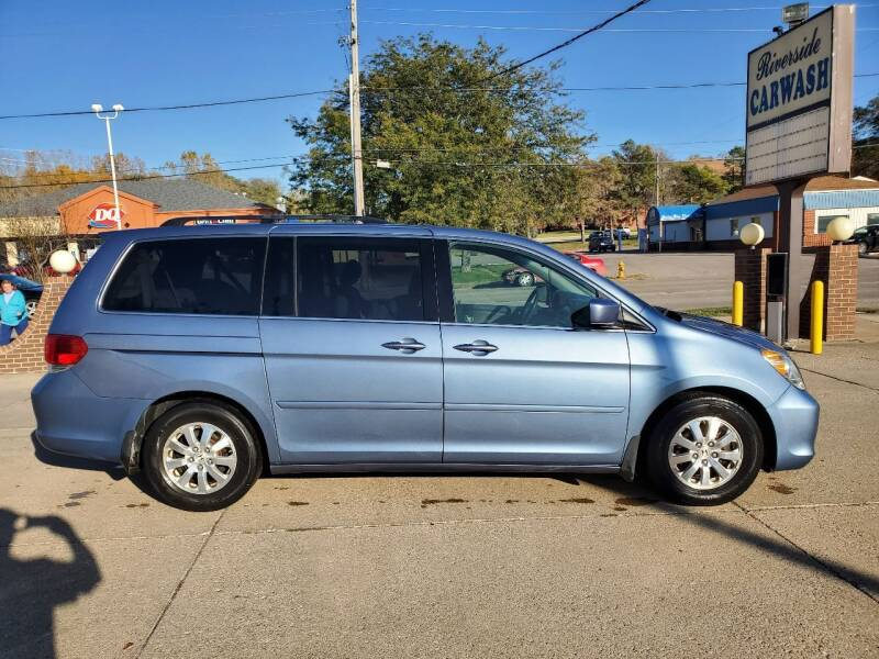 2009 Honda Odyssey for sale at RIVERSIDE AUTO SALES in Sioux City IA