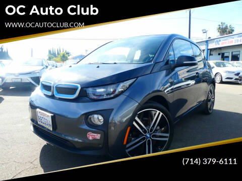 2017 BMW i3 for sale at OC Auto Club in Midway City CA