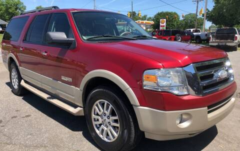2007 Ford Expedition EL for sale at Creekside Automotive in Lexington NC