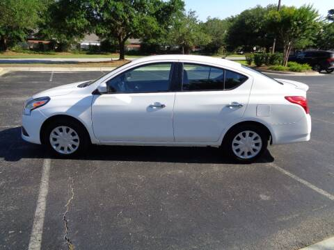 2017 Nissan Versa for sale at BALKCUM AUTO INC in Wilmington NC