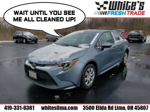 2020 Toyota Corolla for sale at White's Honda Toyota of Lima in Lima OH