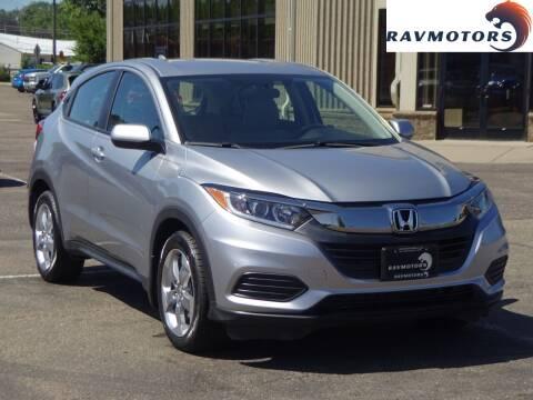 2019 Honda HR-V for sale at RAVMOTORS 2 in Crystal MN