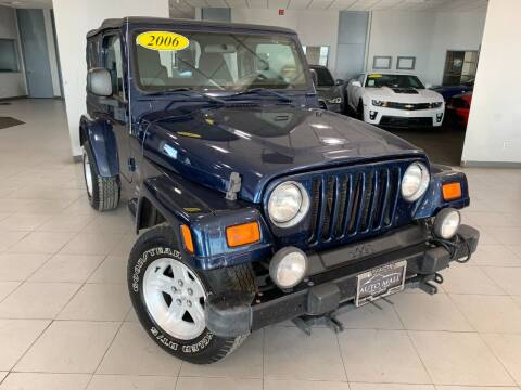 2005 Jeep Wrangler for sale at Auto Mall of Springfield north in Springfield IL