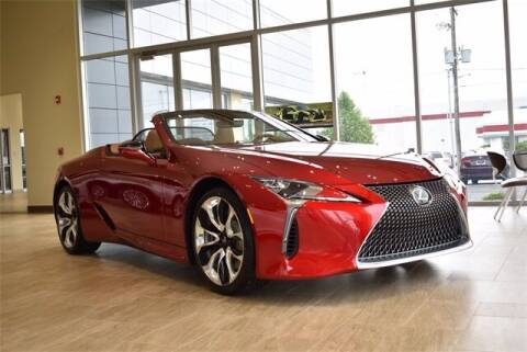 2021 Lexus LC 500 Convertible for sale at BOB ROHRMAN FORT WAYNE TOYOTA in Fort Wayne IN