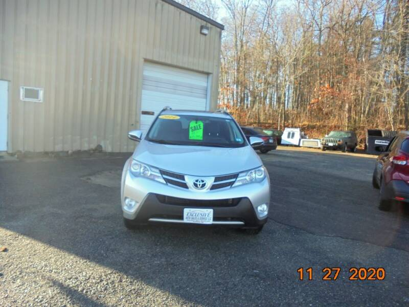 2014 Toyota RAV4 for sale at Exclusive Auto Sales & Service in Windham NH