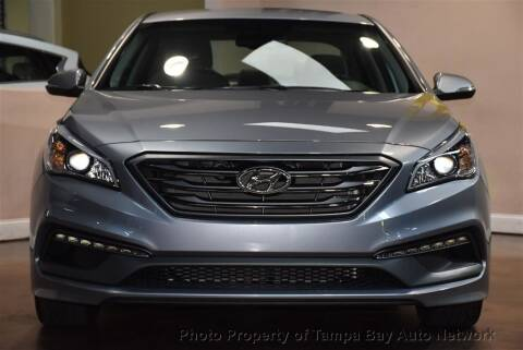 2015 Hyundai Sonata for sale at Tampa Bay AutoNetwork in Tampa FL