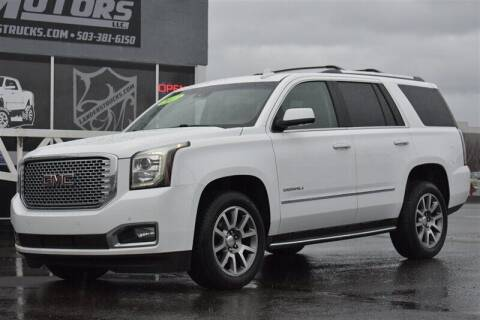2017 GMC Yukon for sale at Landers Motors in Gresham OR