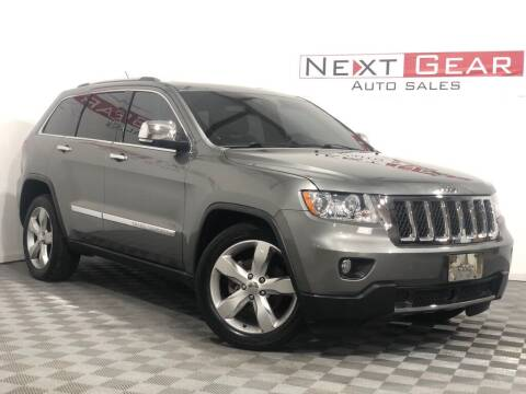 2011 Jeep Grand Cherokee for sale at Next Gear Auto Sales in Westfield IN