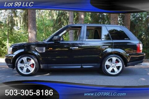 2008 Land Rover Range Rover Sport for sale at LOT 99 LLC in Milwaukie OR
