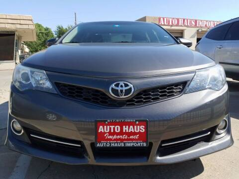 2014 Toyota Camry for sale at Auto Haus Imports in Grand Prairie TX