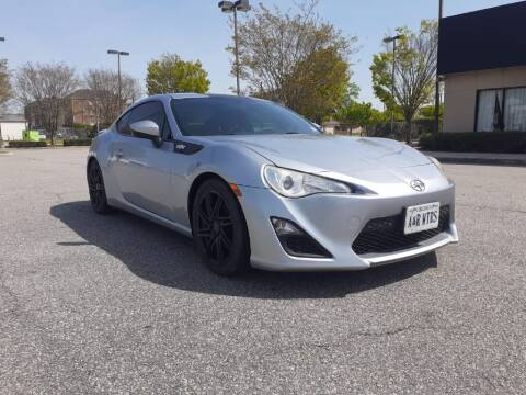 2015 Scion FR-S for sale at A&R MOTORS in Portsmouth VA