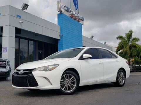 2016 Toyota Camry for sale at Tech Auto Sales in Hialeah FL