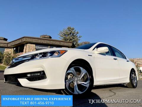 2017 Honda Accord Hybrid for sale at TJ Chapman Auto in Salt Lake City UT