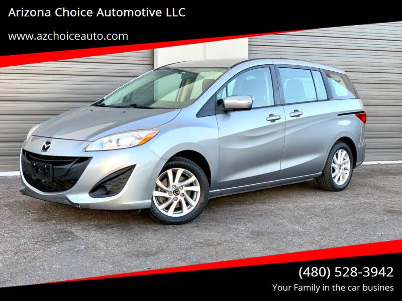 2014 Mazda MAZDA5 for sale at Arizona Choice Automotive LLC in Mesa AZ