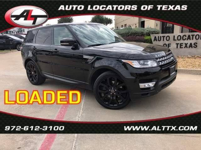 2014 Land Rover Range Rover Sport for sale at AUTO LOCATORS OF TEXAS in Plano TX