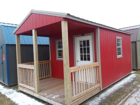 2018 Premier Portable Building 10x20 Urethane Cabin SOLD for sale at Dave's Auto Sales & Service - Premier Buildings in Weyauwega WI