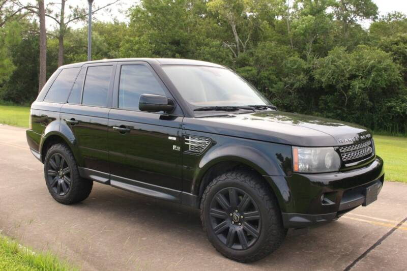 2013 Land Rover Range Rover Sport for sale at Clear Lake Auto World in League City TX