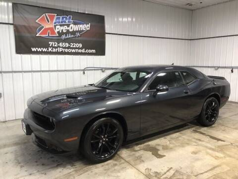 2018 Dodge Challenger for sale at Karl Pre-Owned in Glidden IA