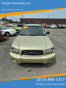 2004 Subaru Forester for sale at Choice One Auto LLC in Beech Grove IN