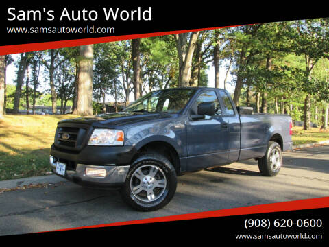2005 Ford F-150 for sale at Sam's Auto World in Roselle NJ