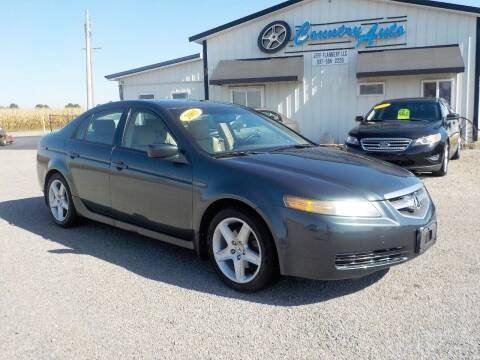 2005 Acura TL for sale at Country Auto in Huntsville OH