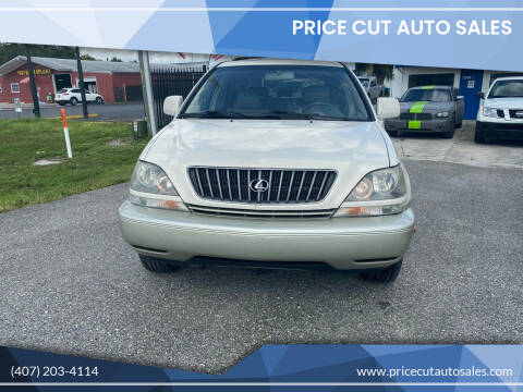 2000 Lexus RX 300 for sale at Price Cut Auto Sales in Orlando FL
