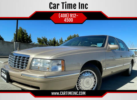 1997 Cadillac DeVille for sale at Car Time Inc in San Jose CA