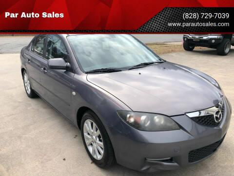 2008 Mazda MAZDA3 for sale at Par Auto Sales in Lenoir NC