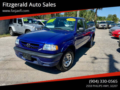 2003 Mazda Truck for sale at Fitzgerald Auto Sales in Jacksonville FL