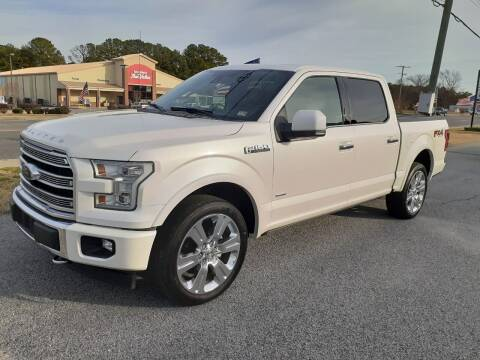 2017 Ford F-150 for sale at USA 1 Autos in Smithfield VA