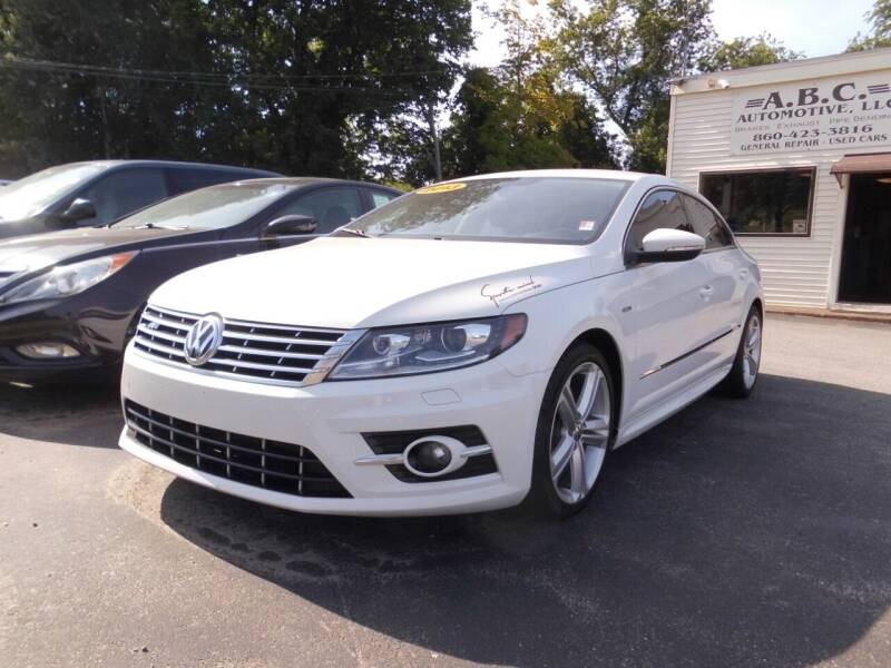 2013 Volkswagen CC for sale at ABC AUTO LLC in Willimantic CT