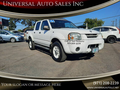 2004 Nissan Frontier for sale at Universal Auto Sales Inc in Salem OR