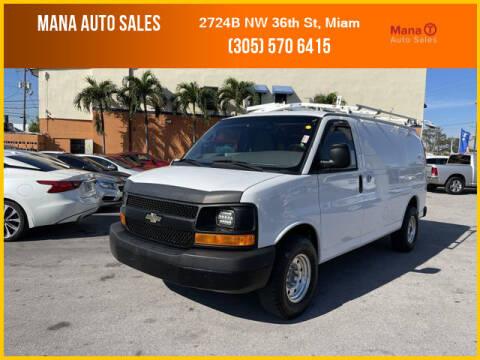 2012 Chevrolet Express Cargo for sale at MANA AUTO SALES in Miami FL