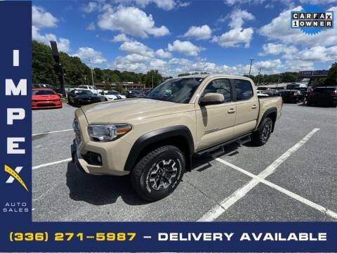 2016 Toyota Tacoma for sale at Impex Auto Sales in Greensboro NC