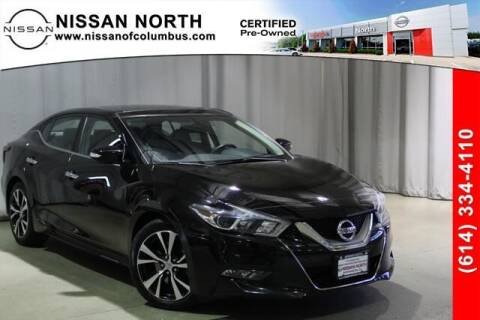 2017 Nissan Maxima for sale at Auto Center of Columbus in Columbus OH