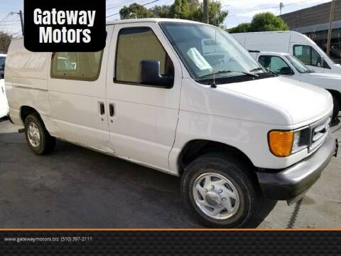 2003 Ford E-250 for sale at Gateway Motors in Hayward CA