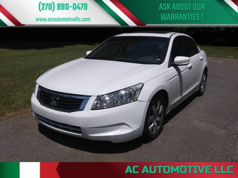 2008 Honda Accord for sale at AC AUTOMOTIVE LLC in Hopkinsville KY