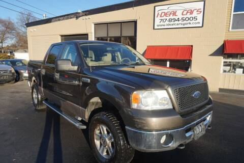 2006 Ford F-150 for sale at I-Deal Cars LLC in York PA