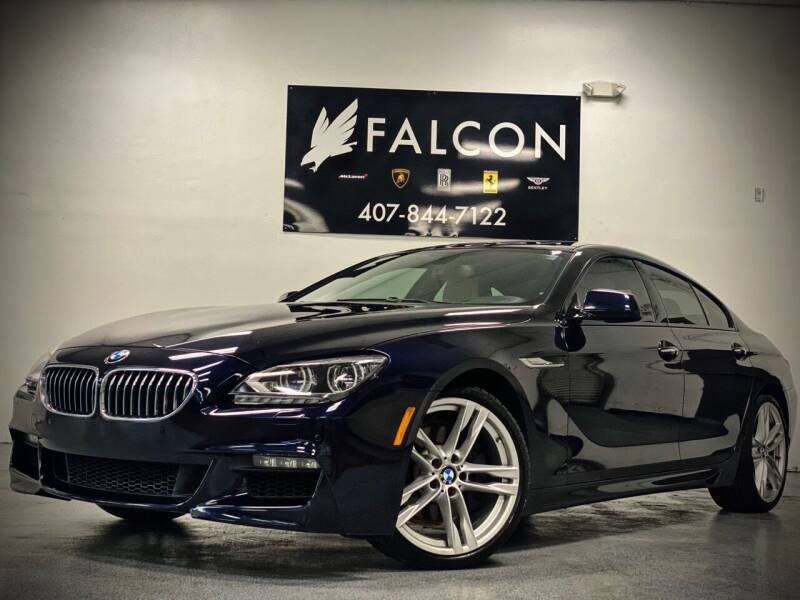 2015 BMW 6 Series for sale at FALCON AUTO BROKERS LLC in Orlando FL