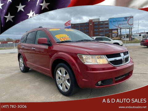 2009 Dodge Journey for sale at A & D Auto Sales in Joplin MO