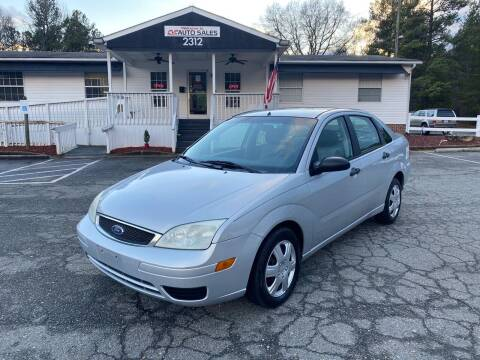 2007 Ford Focus for sale at CVC AUTO SALES in Durham NC