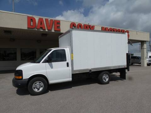 2016 Chevrolet Express Cutaway for sale at DAVE CORY MOTORS in Houston TX