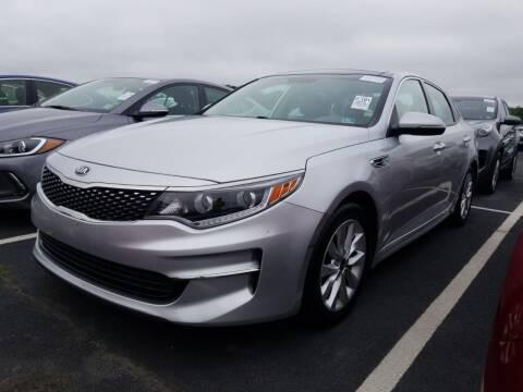 2016 Kia Optima for sale at Cj king of car loans/JJ's Best Auto Sales in Troy MI