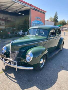 1940 Ford Deluxe for sale at California Automobile Museum in Sacramento CA