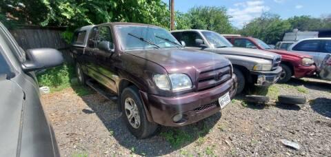 2000 Toyota Tundra for sale at C.J. AUTO SALES llc. in San Antonio TX