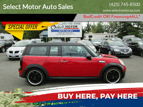 2008 MINI Cooper Clubman for sale at Select Motor Auto Sales in Lynnwood WA