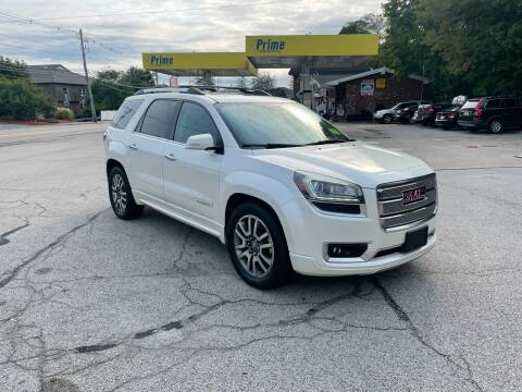 2013 GMC Acadia for sale at Trust Petroleum in Rockland MA